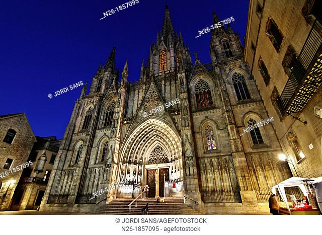 Barcelona Cathedral  XIIIth to XVth centuries