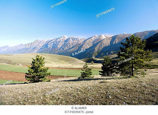 Italy, Abruzzo region, Gran Sasso d'Italia