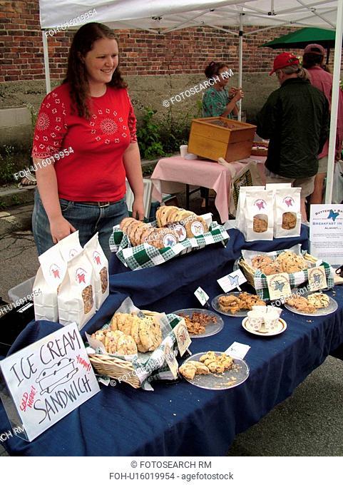 Montpelier, VT, Vermont, Farmer's Market, fresh baked goods, cookies
