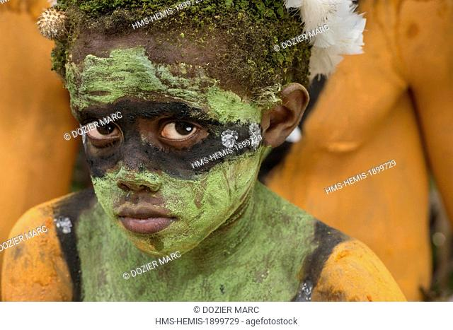 Papua New Guinea, Bismarck Archipelago, Gazelle peninsula, New Britain island, East New Britain province, Rabaul, Kokopo, National Mask Festival