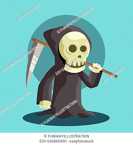 Grim reaper holding scythe Stock Photos and Images | age fotostock