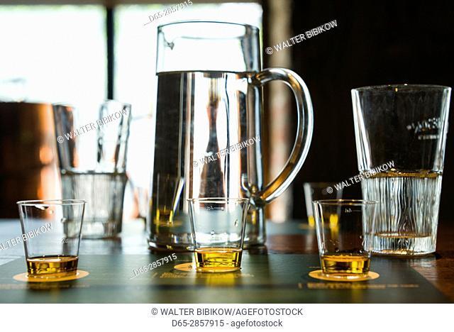Ireland, Dublin, Smithfield, Old Jameson Distillery, historic whisky distillery, whisky tasting room