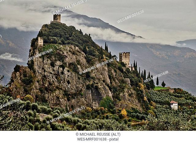 Italy, Trentino, Castello di Arco
