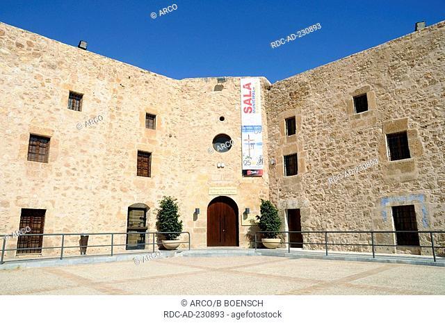 Fishing museum, castillo Fortaleza, Santa Pola, Costa Blanca, Spanien