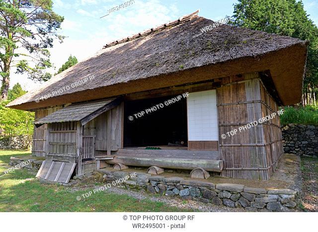 Aouzou surrounding valley, spot, Xiaocai dwelling house,Tokushima County, Miyoshi City,Japan