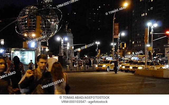 59th Street Columbus Circle, Broadway, Manhattan, New York City, Columbus Circle Mid-Town West, USA