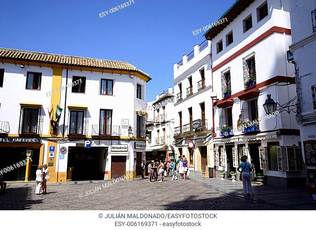 Streets of the old town of Cordoba, Andalucía, Spain