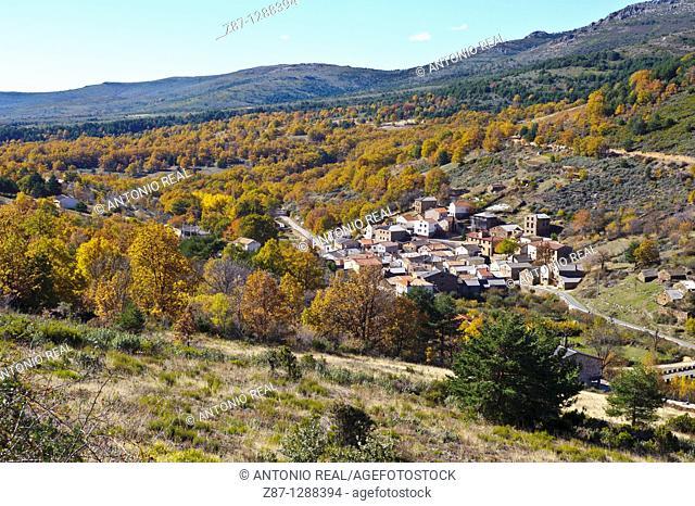 Aldeanueva de Atienza, Sierra del Alto Rey, Parque Natural Sierra Norte de Guadalajara, Guadalajara, Spain