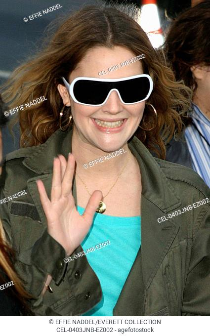 Drew Barrymore at a special screening of FAHRENHEIT 9/11, the Academy of Motion Picture Arts and Science, Beverly Hills, CA, June 8, 2004