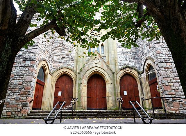 La Antigua parish church, El Antiguo neighbourhood, Donostia (San Sebastian), Gipuzkoa, Basque Country, Spain
