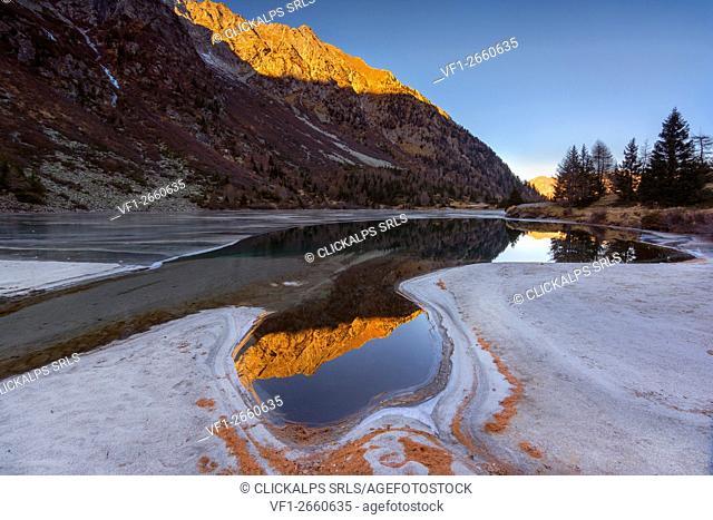 Adamello park, Vallecamonica, province of Brescia, Italy