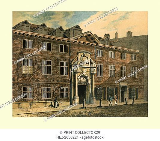 Blackwell Hall, 1886. Artist: Unknown