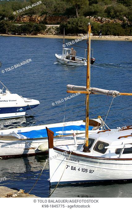 Porto Colom Felanitx  Migjorn Mallorca Baleares España