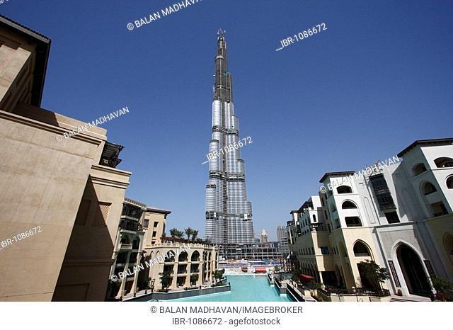 View of Burj from Palace Hotel, Dubai, United Arab Emirates