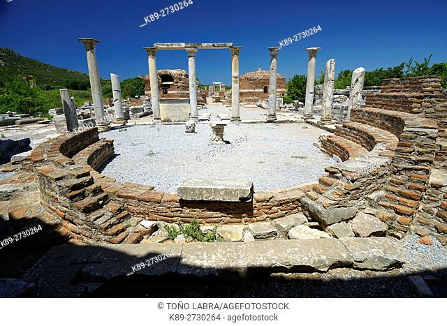 Church of the Virgin Mary. Ephesos. Ancient Greece. Asia Minor. Turkey