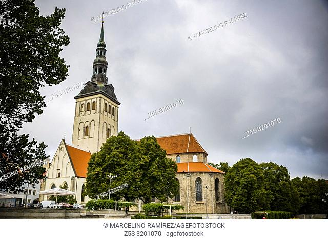 Niguliste Museum, St. Nicholas Church. Tallinn, Harju County, Estonia, Baltic states, Europe