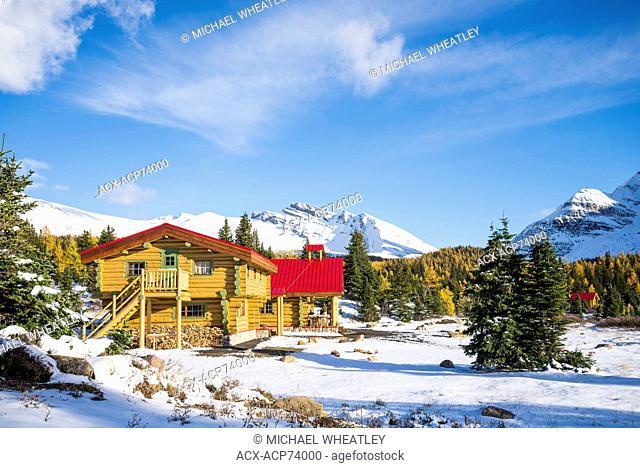 Mount Assiniboine Lodge, Mount Assiniboine Provincial Park, British Columbia, Canada