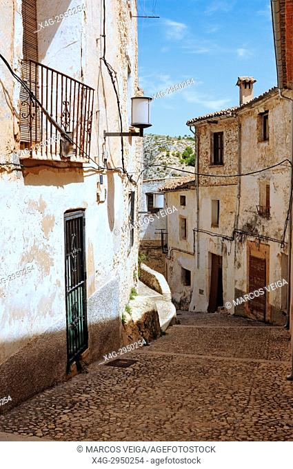 Pintoresque village of Bocairent, Valencia, Spain