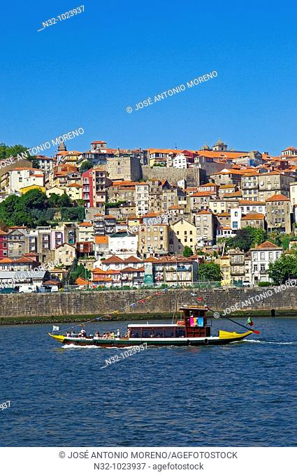 Porto. old Town. Ribeira district. UNESCO. World Heritage Site. Portugal