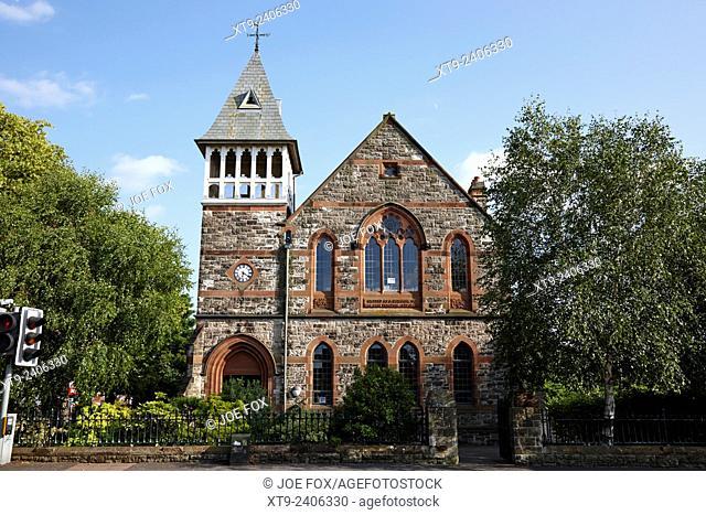 belmont tower formerly ferguson memorial school belfast northern ireland uk