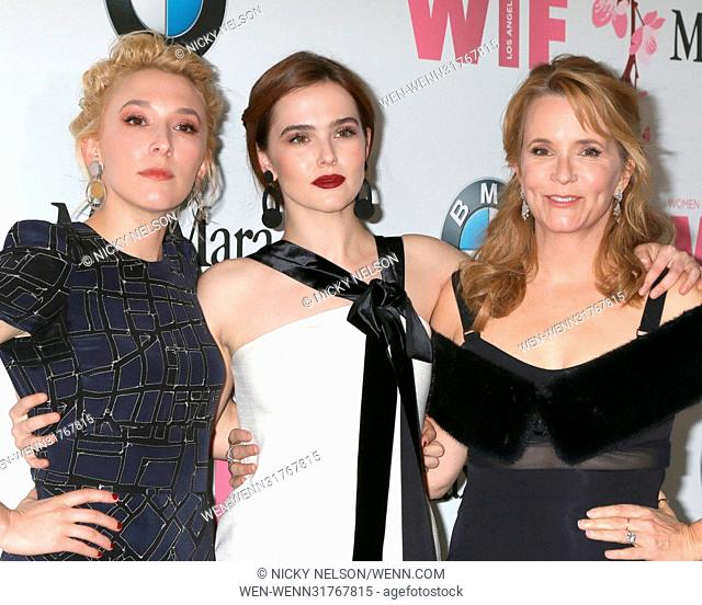 Women in Film celebrates the 2017 Crystal and Lucy Awards at the Beverly Hilton Hotel - Arrivals Featuring: Madelyn Deutch, Zoey Deutch