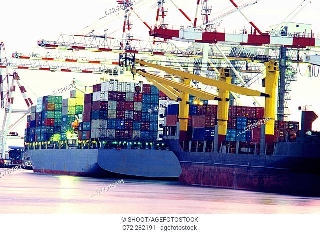 Docks. Melbourne. Victoria, Australia