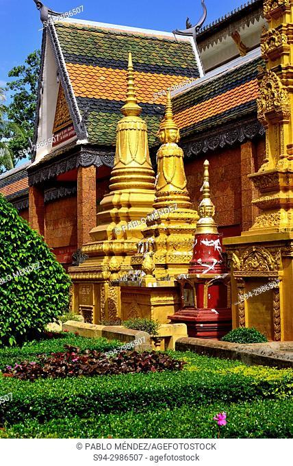 Wat Preah Phrom Roth of Siem Reap, Cambodia