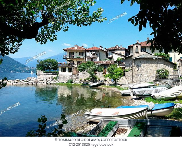 Italy, Como lake, Lierna Lariana locality, Summer