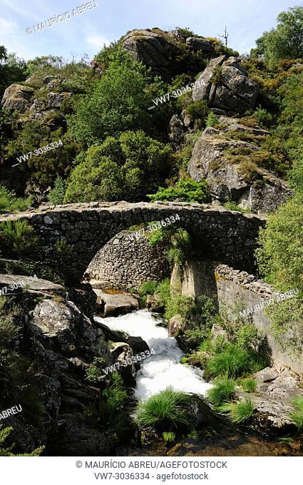 Laboreiro river. Castro Laboreiro. Peneda Geres National Park. Portugal