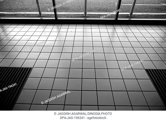 Floor tiles near paris, france, europe