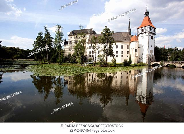 Water Castle, Blatna, South Bohemia, Czech Republic, Europe
