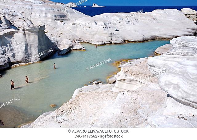 Sarakiniko beach, Milos, Cyclades Islands  Greece