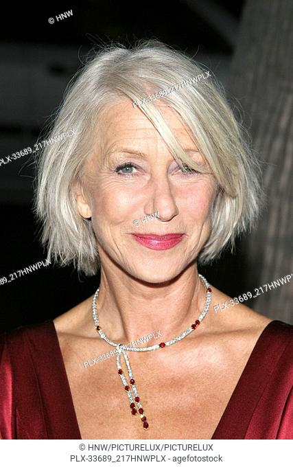 Helen Mirren 10/03/06 THE QUEEN @ Academy of Motion Picture Arts & Science, Beverly Hills photo by Jun Matsuda/HNW / PictureLux (October 3