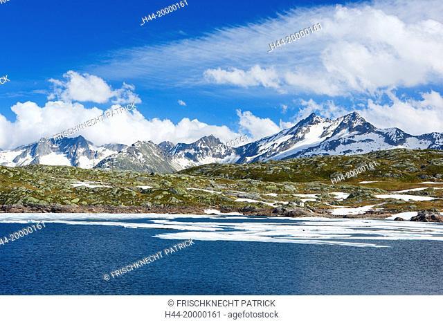 Grimsel Pass and Totensee, Switzerland