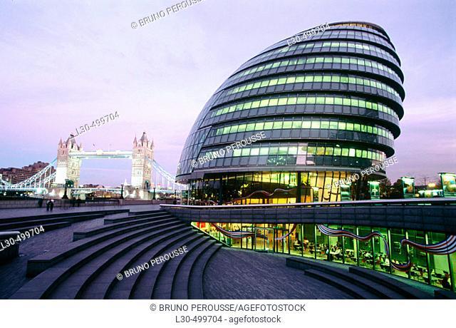 City Hall, London. England, UK