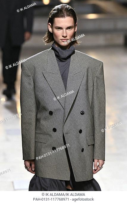 Isabel Marant runway show during Paris Fashion Week, AW19, Autumn Winter 2019 collection - Paris, France 28/02/2019 | usage worldwide. - Paris/France