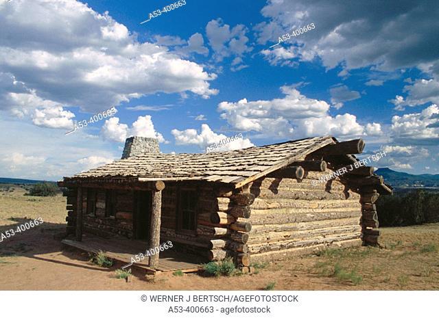 Ghost ranch near Albuquerque. New Mexico, USA