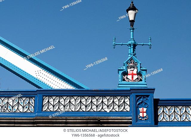 Tower Bridge Lamppost,London,England