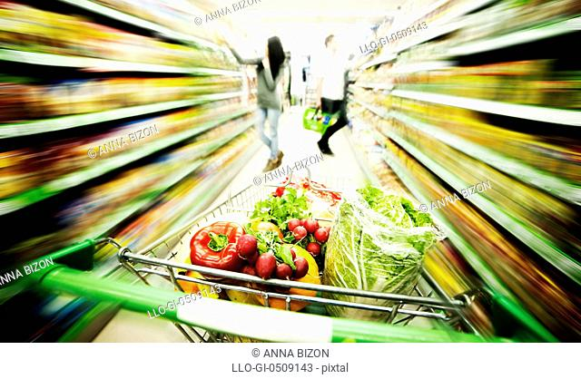Supermarket Debica, Poland