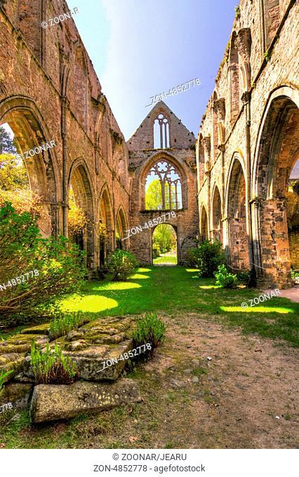 Abbaye Maritime de Beauport, Paimpol, Brittany abb