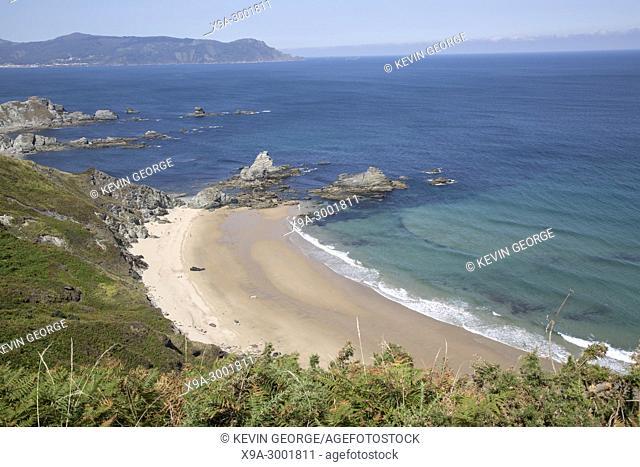 Carro Beach; Espasante; Galicia; Spain