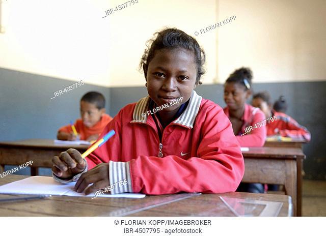 Girl, 14 years, Primary School, Fianarantsoa, Madagascar