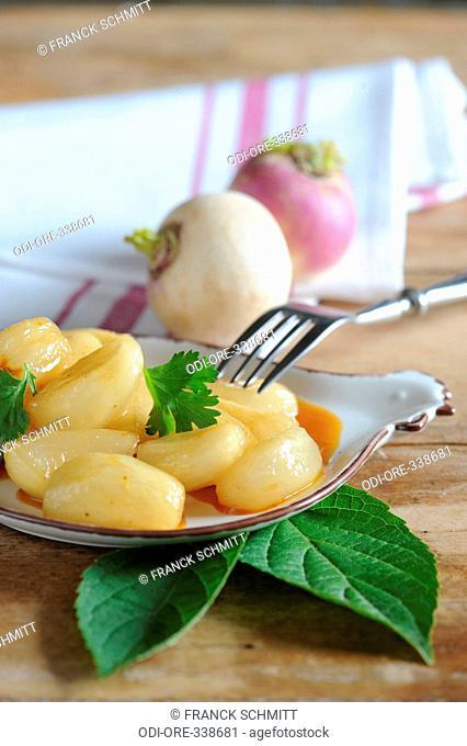 Honey turnips