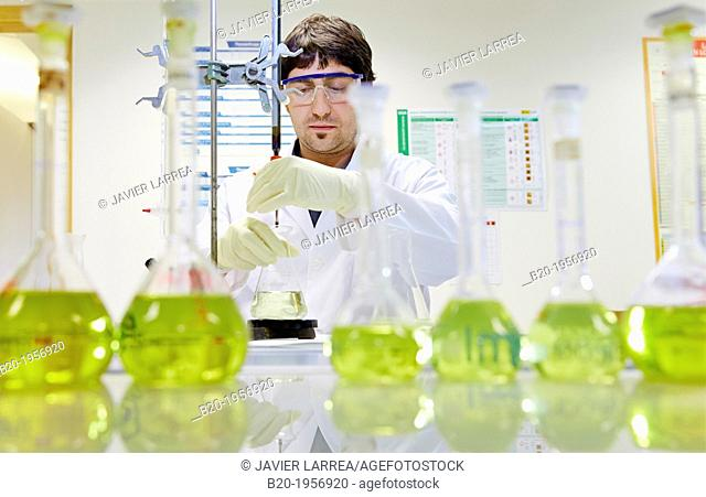 Chemical Analysis Laboratory. Technological Services to Industry. Tecnalia Research & Innovation, Donostia, San Sebastian, Gipuzkoa, Basque Country, Spain