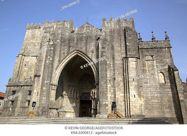 Cathedral Entrance; Tui; Galicia; Spain
