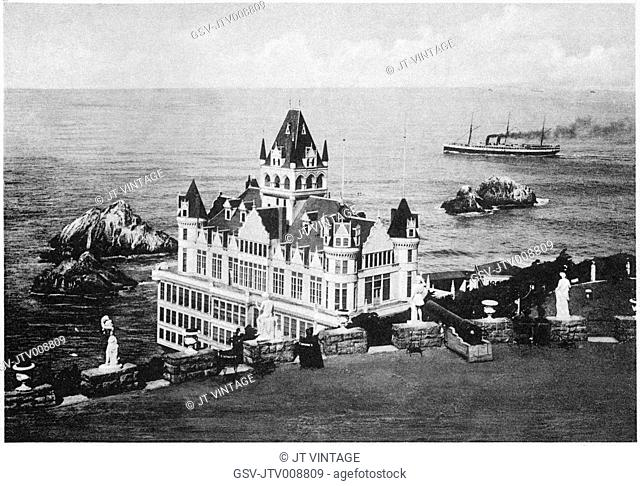 architecture, Cliff House, San Francisco, historical