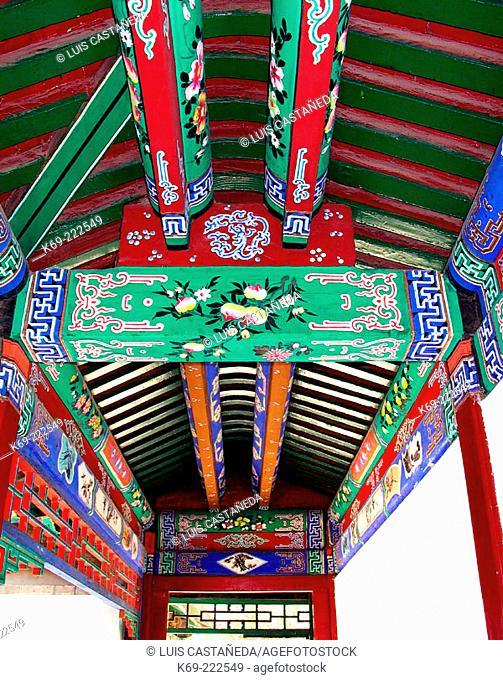 Detail, Beihai Park. Beijing. China