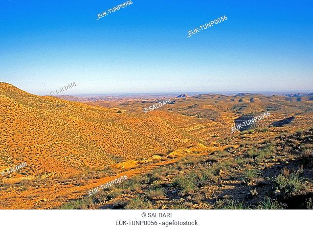 Panoramic View,Tunisia