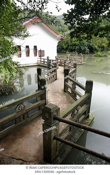 Tianxing Bridge Scenic Area, Huangguoshu, Guizhou, China