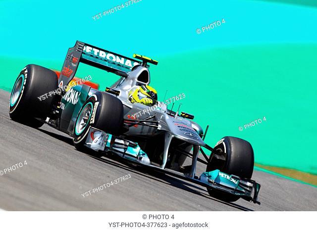 25.11.2011- Friday Practice 1, Nico Rosberg GER, Mercedes GP Petronas F1 Team, MGP W02